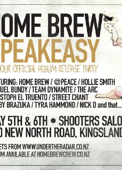 Home Brew Speakeasy - 48-Hour Album Release Party