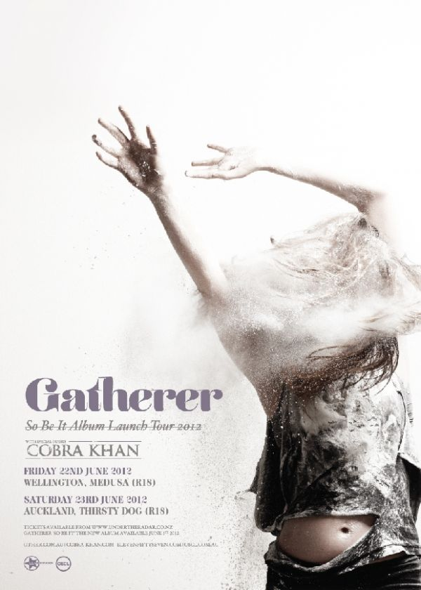 Gatherer 'So Be It' NZ Tour