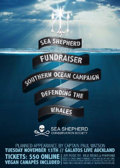 Sea Shepherd Fundraiser