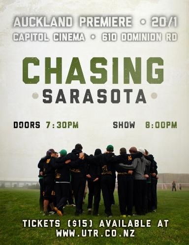 Chasing Sarasota Auckland Premiere