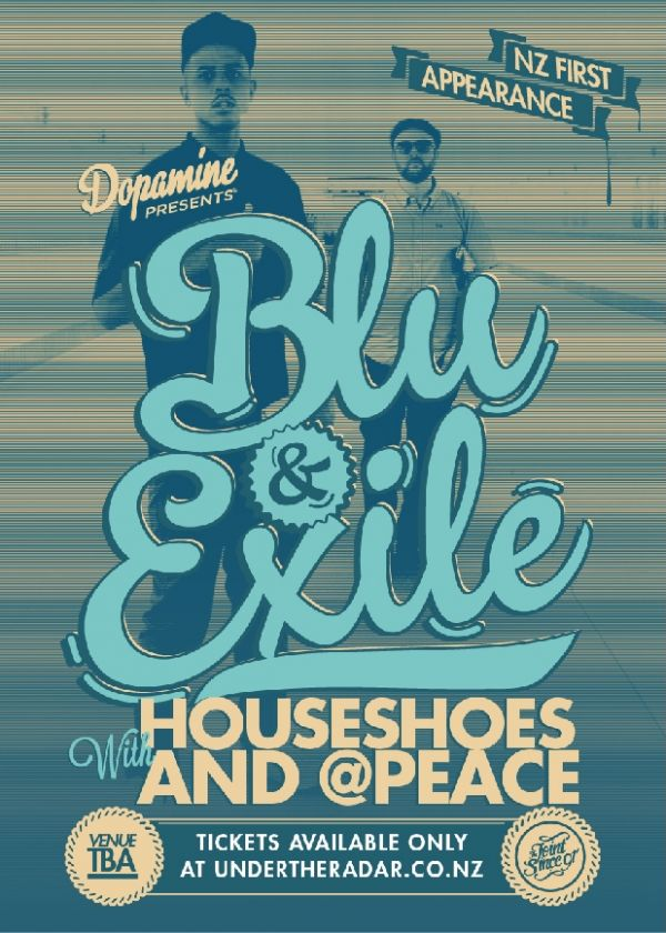 Blu and 'NO' Exile with House Shoes and @Peace