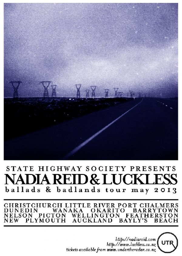 Nadia Reid And Luckless - Ballads And Badlands Tour