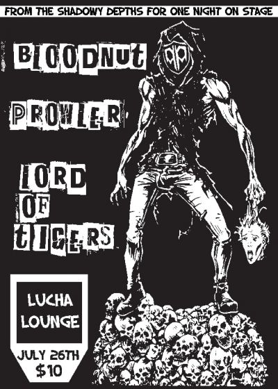 Prowler,  Lord Of Tigers and Bloodnut