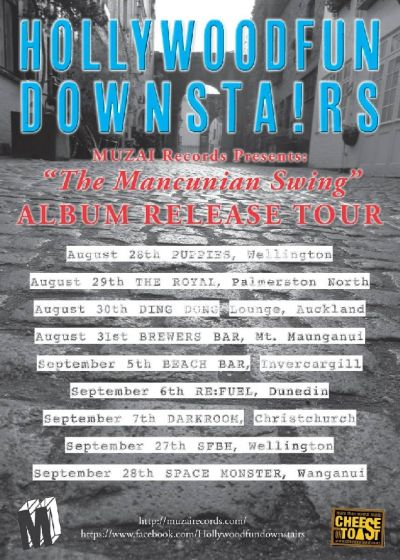 Hollywoodfun Downstairs - The Mancunian Swing Tour