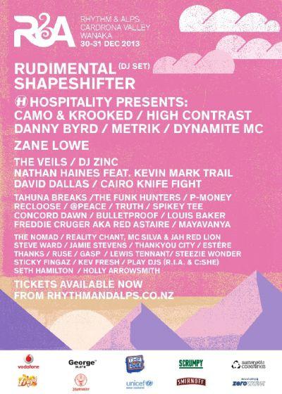 Rhythm And Alps 2013