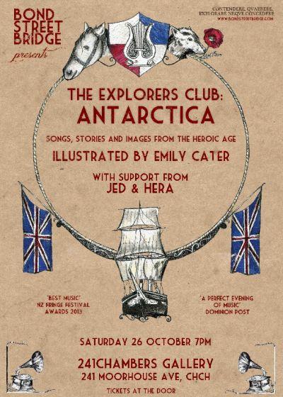 The Explorers Club Album Release Tour