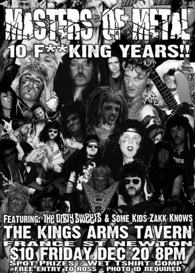 Masters Of Metal Xmas Show
