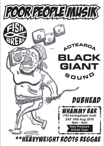 Dubhead ,Fish and Bread, Black Giant