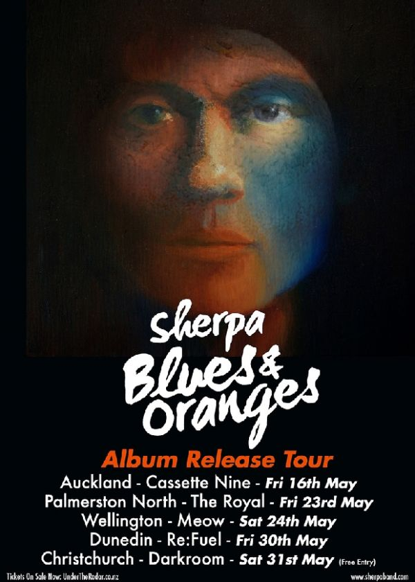 Sherpa - Blues and Oranges Tour