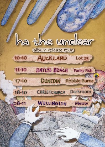 Ha The Unclear - Album Release Tour