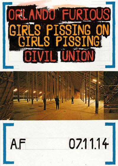 Orlando Furious, Girls Pissing On Girls Pissing, Civil Union