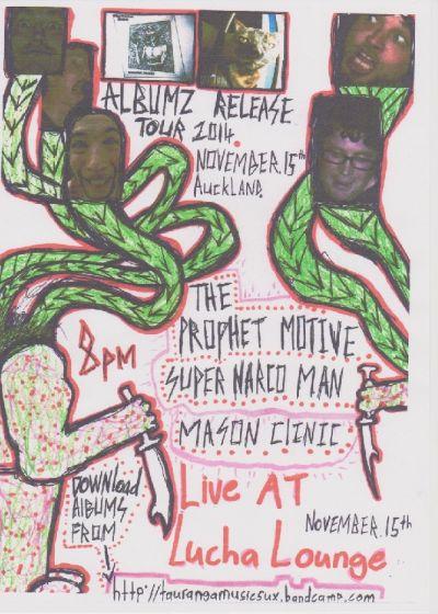 Super Narco Man and The Prophet Motive Album Release Tour - The ...