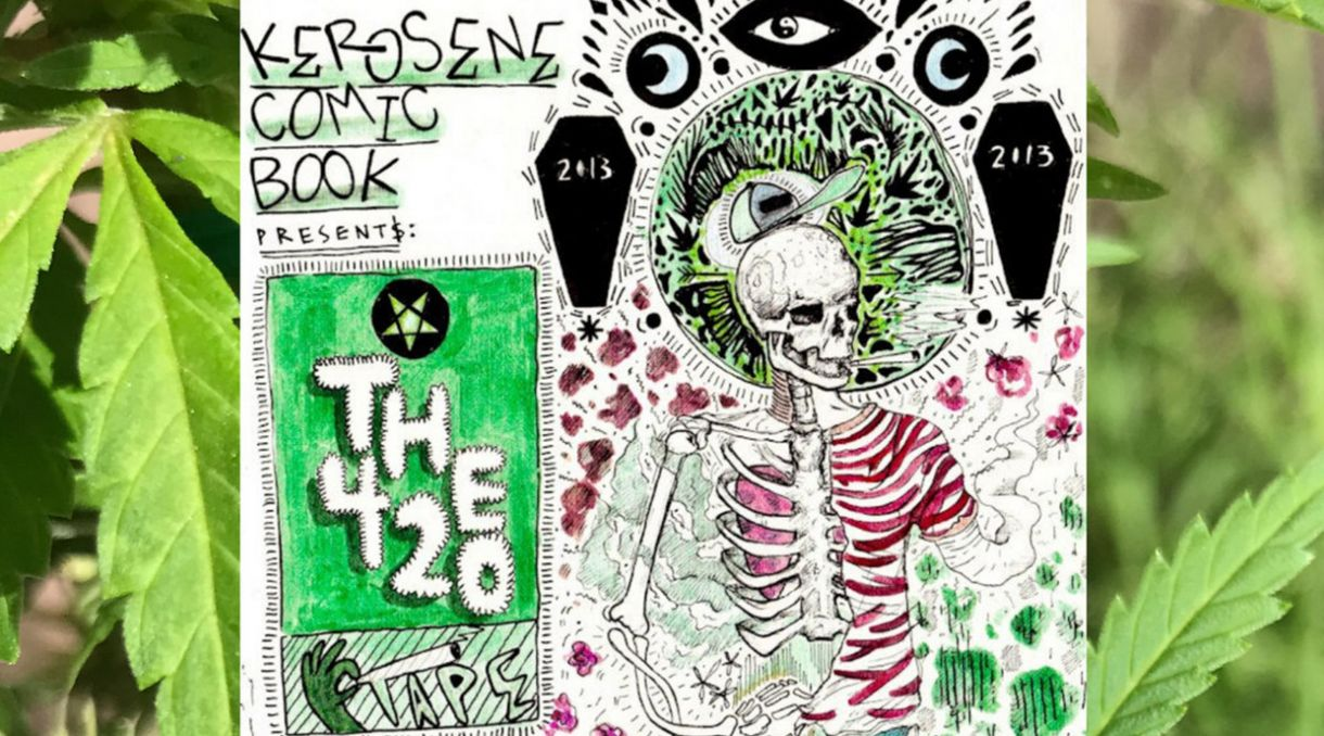 Kerosene Comic Book Reissue 'The 420 Tape' Volumes I & II