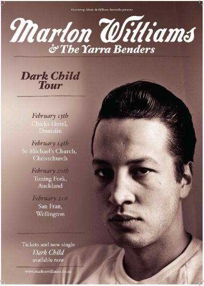 Marlon Williams and The Yarra Benders - Dark Child Single Tour