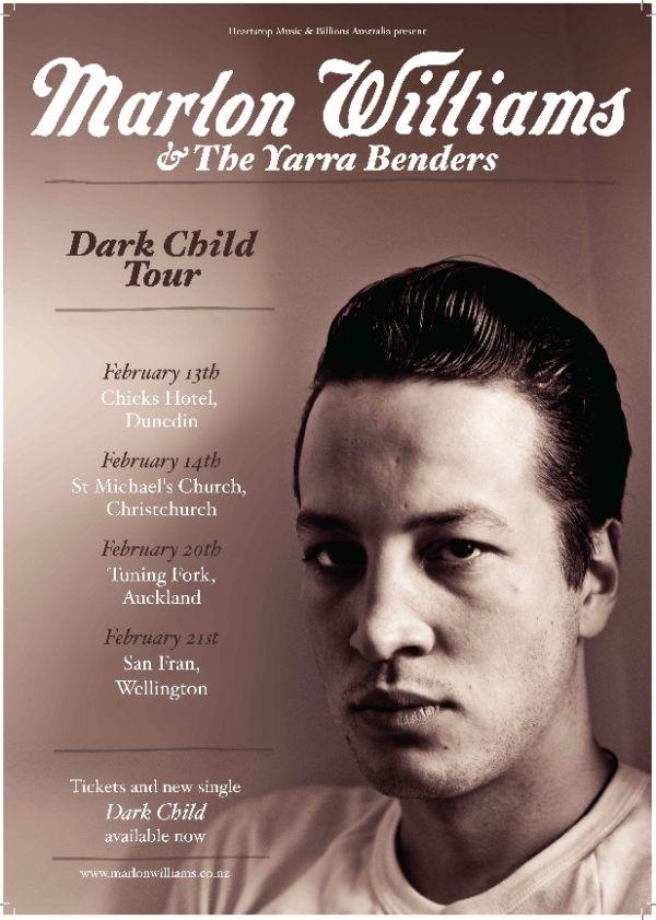 Marlon Williams and The Yarra Benders - Dark Child Single Tour