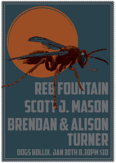 Reb Fountain, Scott J Mason, Brendan And Alison Turner