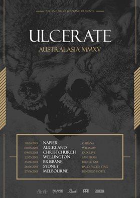 Ulcerate Australasian Tour 2015