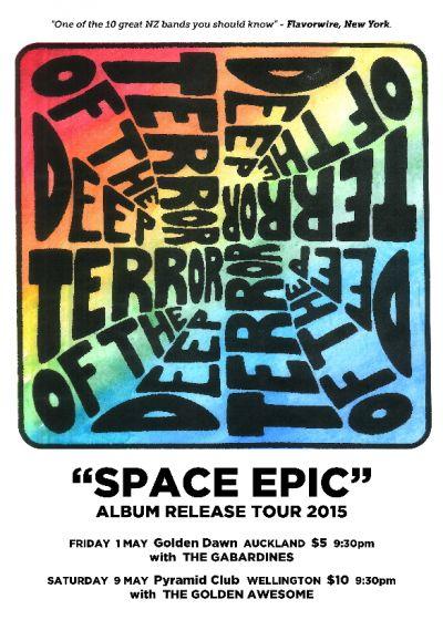 Terror Of The Deep - Space Epic Album Release Tour