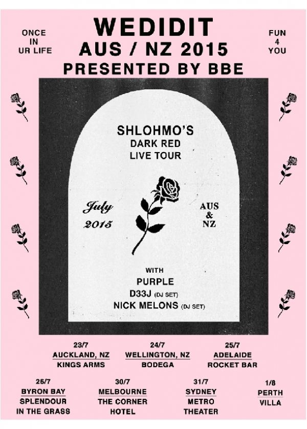 WEDIDIT Tour Featuring Shlohmo + More