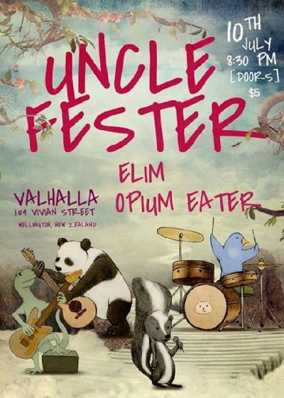 Uncle Fester, Elim And Opium Eater