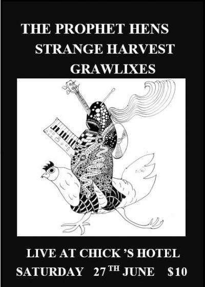 The Prophet Hens, Strange Harvest and Grawlixes