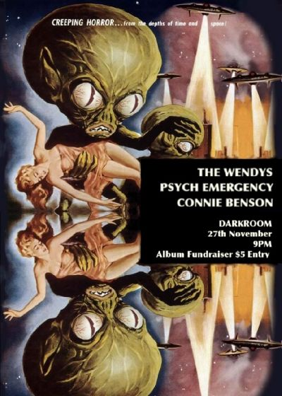 Connie Benson, Psych Emergency and The Wendys