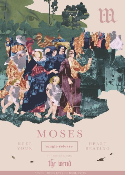 Moses Single Release With The Wend