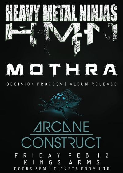 Mothra Album Release Tour