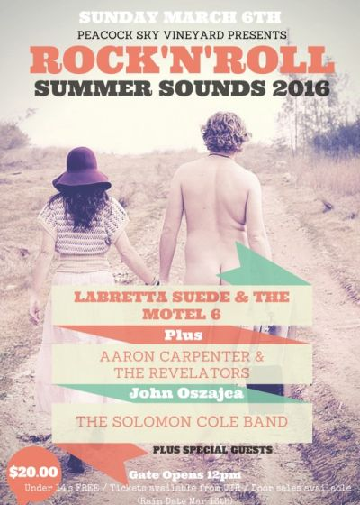 Rock 'n' Roll Summer Sounds 2016