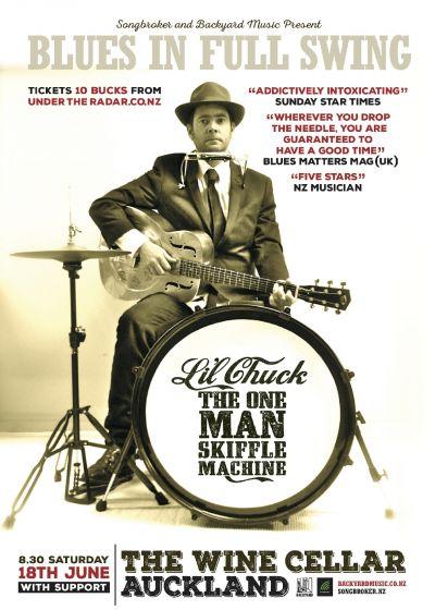 Lil Chuck The One Man Skiffle Machine