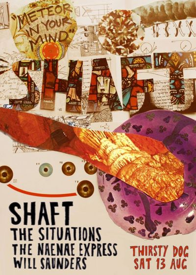 Shaft- Meteor In Your Mind Single Release Party