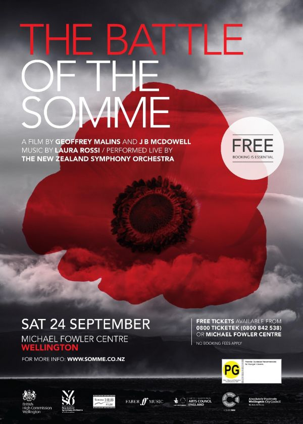 The Battle Of The Somme with The NZSO