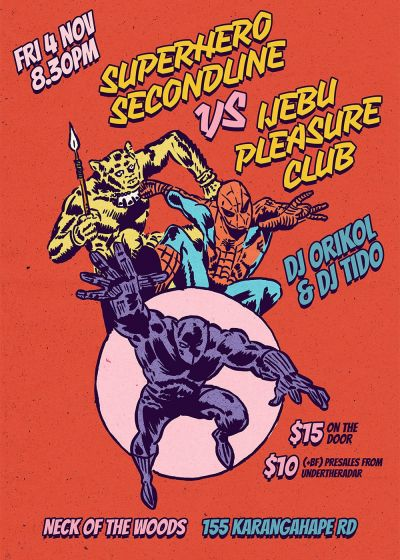Superhero Second Line vs Ijebu Pleasure Club