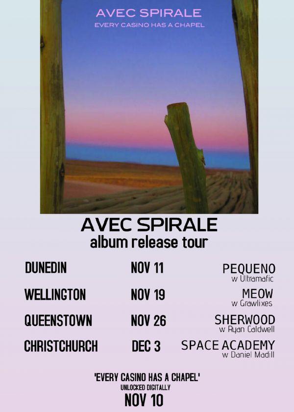 Avec Spirale Album Release