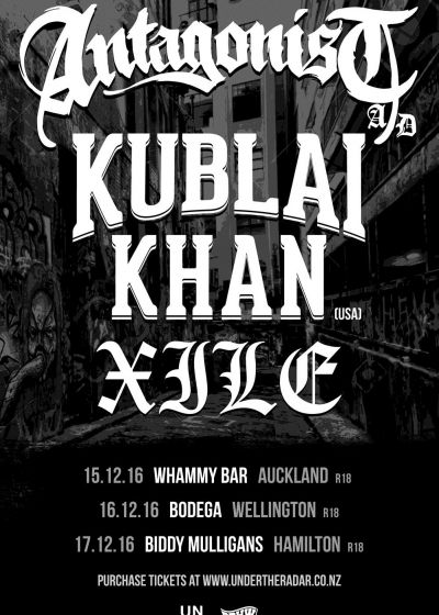Antagonist A.D and Kublai Khan