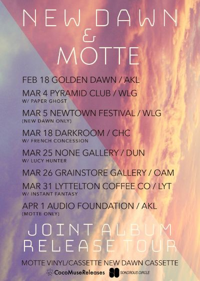 Motte and New Dawn - Joint Album Release