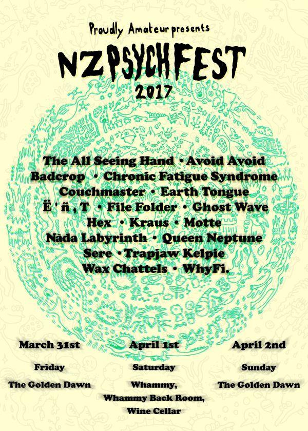 NZ Psych Fest 2017