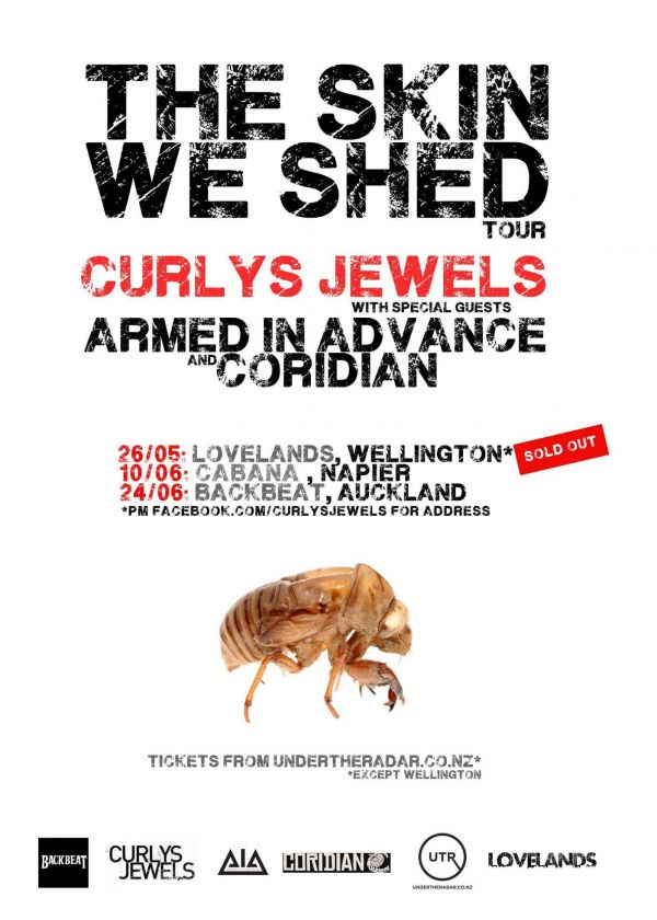 Curlys Jewels - The Skin We Shed Tour