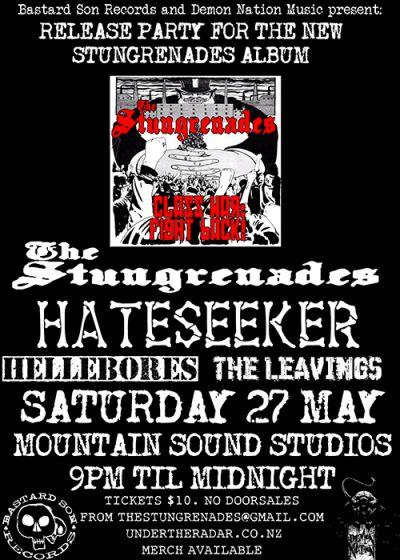 The Stungrenades Album Release