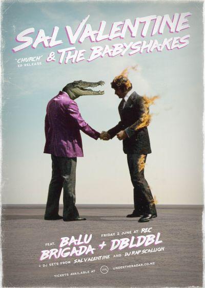 Sal Valentine - Church EP Release w/ Balu Brigada and DBLDBL