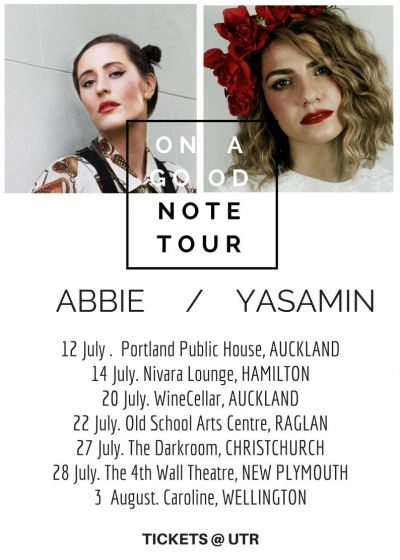 On A Good Note Tour - Yasamin, Abbie + Guests CANCELLED