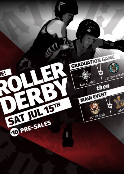 Pirate City Rollers Double Header - Barfoot & Thompson
