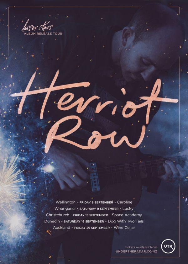 Herriot Row - Lesser Stars Release Tour
