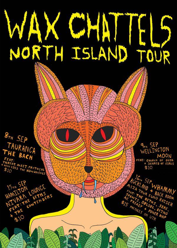 Wax Chattels North Island Tour