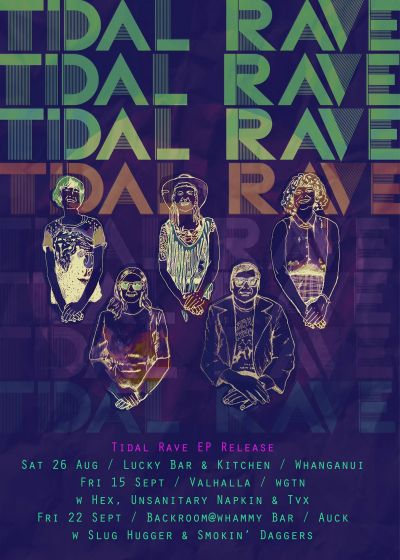 Tidal Rave EP Release Party, With Hex, Tvx And Unsanitary Napkin