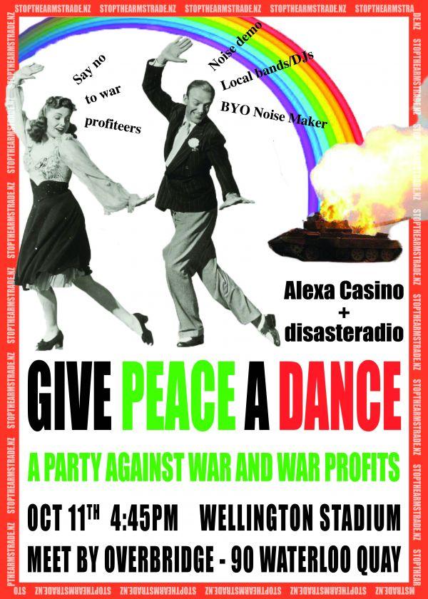 Give Peace A Dance -  Disasteradio And Alexa Casino