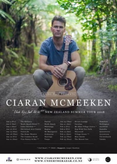 Ciaran McMeeken - Summer Tour