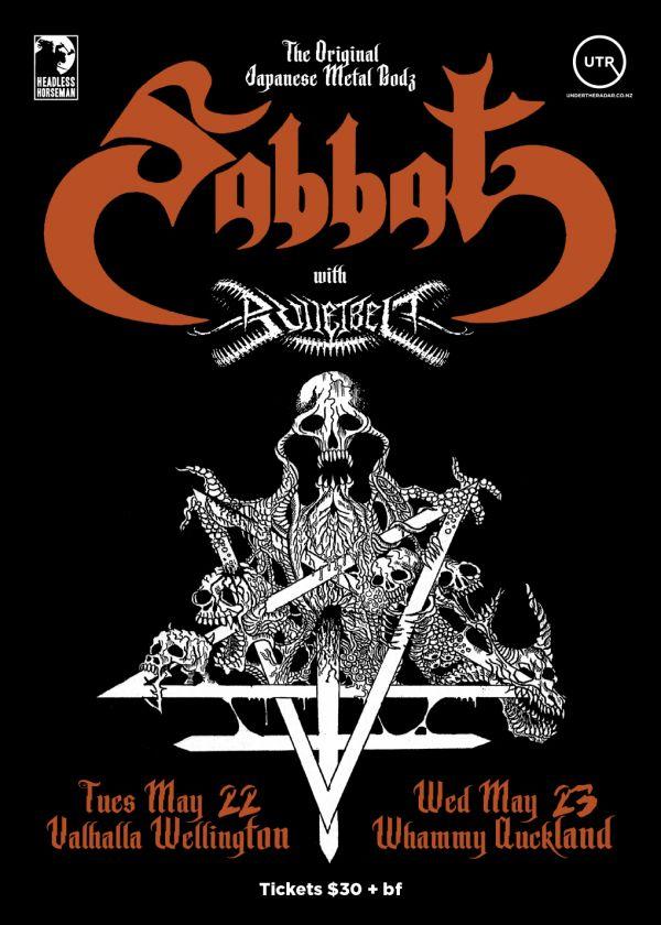 Sabbat New Zealand Tour 2018