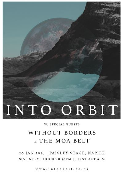 Into Orbit, Without Borders and The Moa Belt