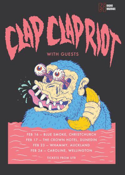 Clap Clap Riot - Dull Life Summer Tour